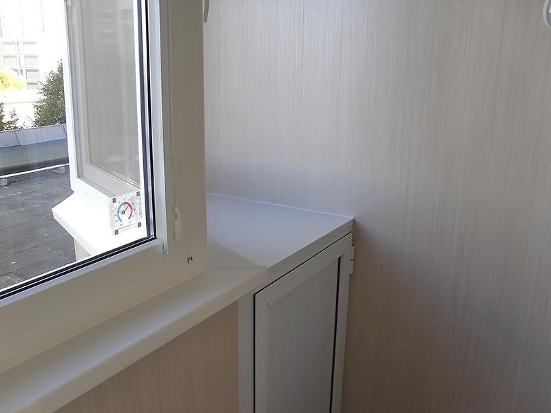 Отделка лоджии пвх панелями цена от 990р м2.